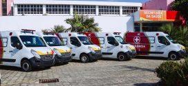 Governo entrega mais cinco ambulâncias à rede estadual de saúde