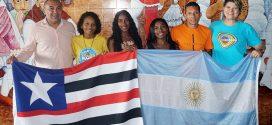 Aluna do IEMA embarca para fazer intercâmbio estudantil na Argentina