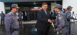 Governador empossa novo comandante da Polícia Militar