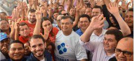 Governador Flávio Dino entrega restaurantes populares e inaugura obras estruturais no interior do Maranhão